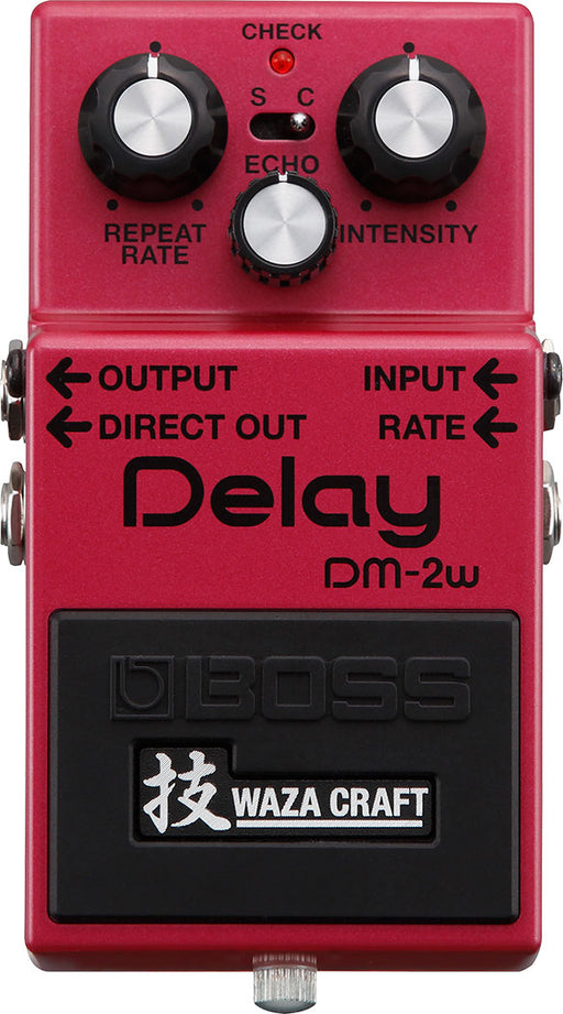 Boss DM-2W Waza Craft Analog Delay Guitar Effect Pedal