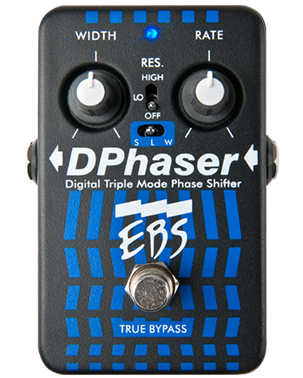 EBS DPhaser DP Digital Triple Mode Phase Shifter Pedal