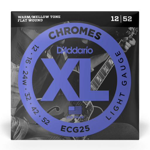 D'Addario ECG25 Set Guitar Chromes Light Strings