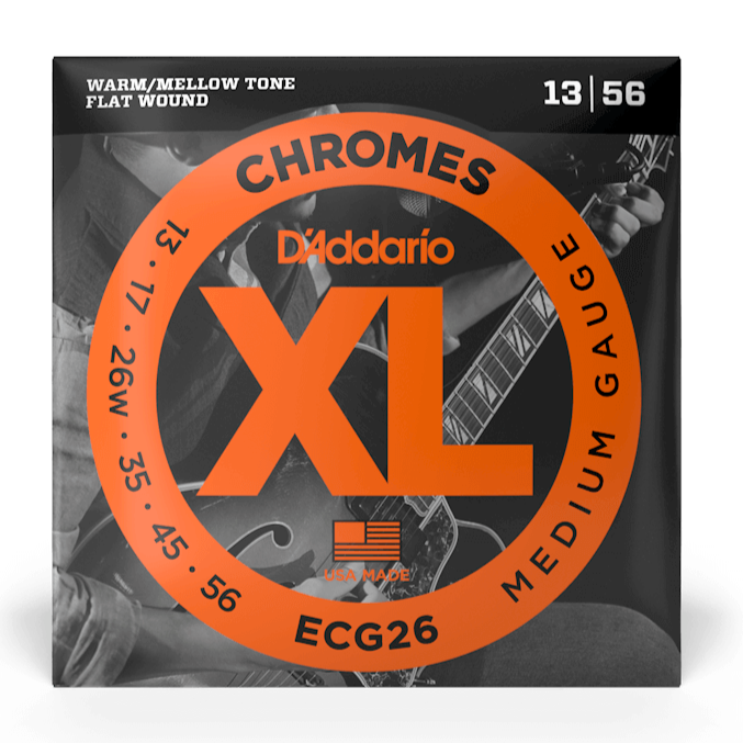 D'Addario ECG26 Set Guitar Chromes Medium Strings