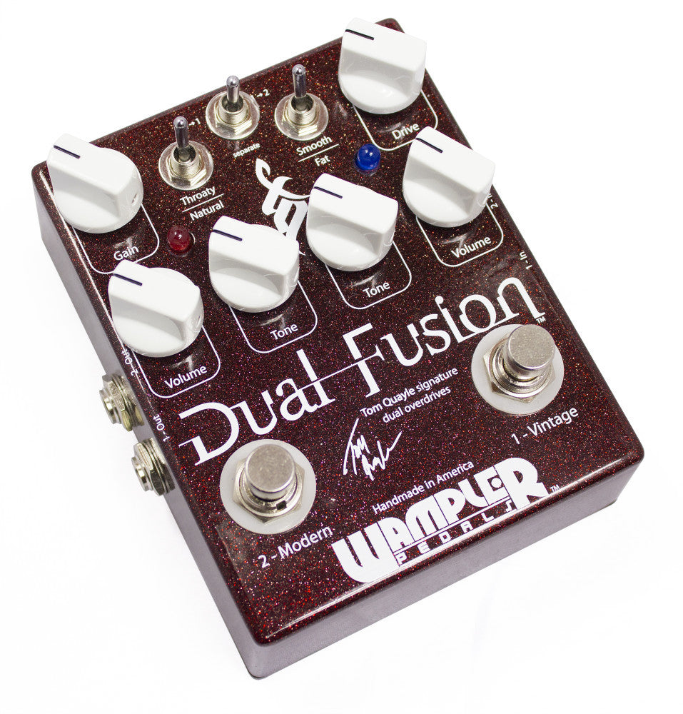 Wampler Tom Quayle Dual Fusion Overdrive Pedal