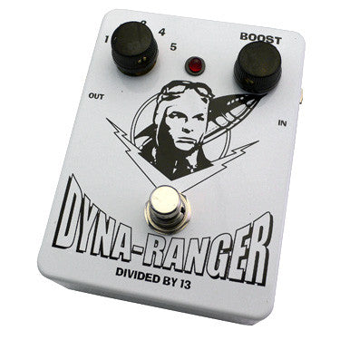 Divided By 13 Dyna Ranger Overdrive/Boost Guitar Efect Pedal