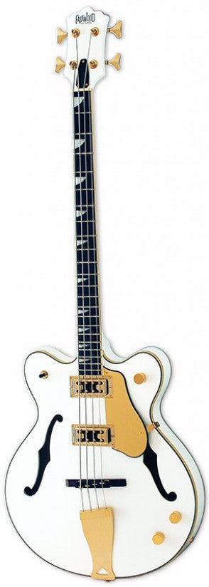 Eastwood Classic 4 Bass - White