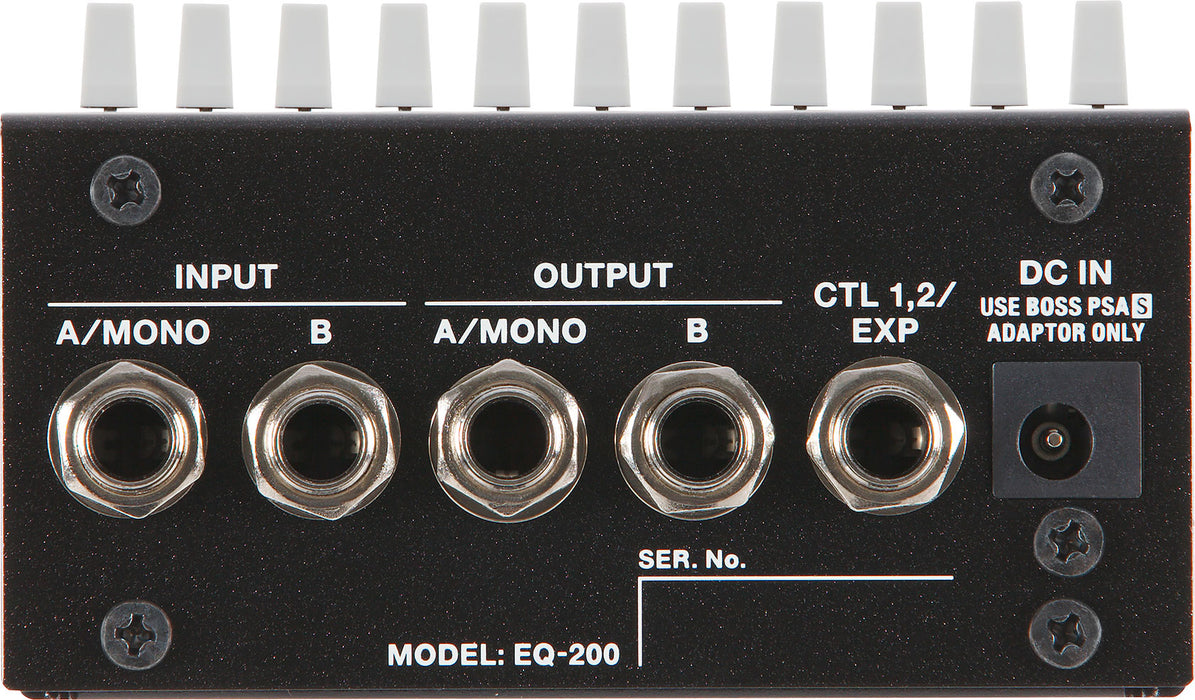 Boss EQ-200 Graphic Equalizer Guitar Effect Pedal