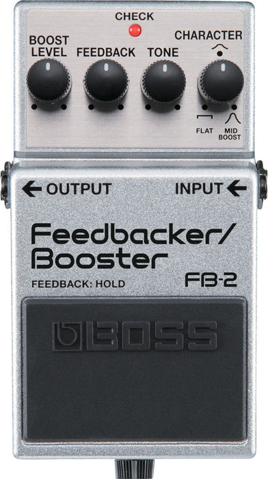 Boss FB-2 Feedback/Booster Guitar Effect Pedal