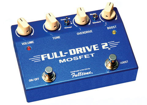 Fulltone Fulldrive 2 FD-2 Distortion/Overdrive Pedal