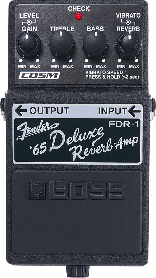 Boss FDR-1 Fender '65 Deluxe Guitar Effect Pedal