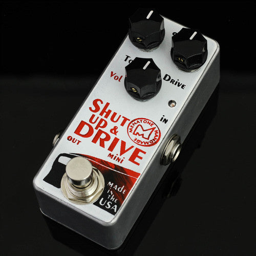 Menatone Shut Up and Drive Overdrive Guitar Effect Pedal