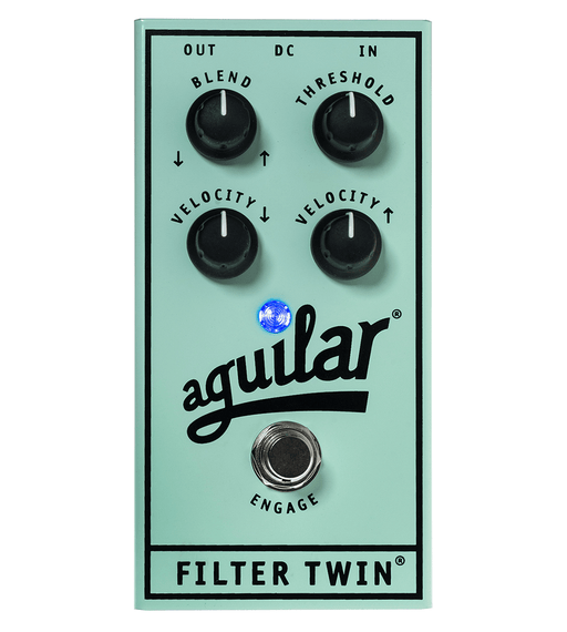 Aguilar Filter Twin Dual Bass Envelope Filter Effect Pedal