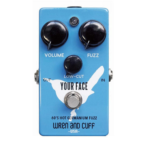 Wren and Cuff Your Face 60's Vintage Germanium Fuzz Guitar Effect Pedal