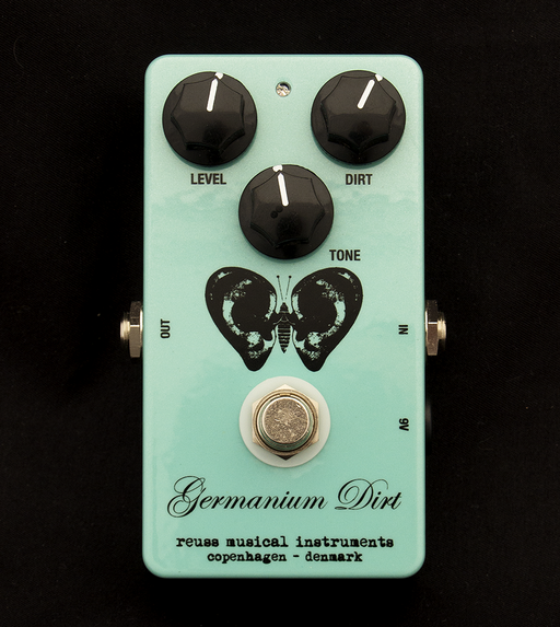 Reuss Germanium Dirt Distortion Guitar Effect Pedal