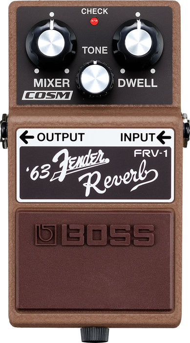 Boss FRV-1 Fender Reverb Guitar Effect Pedal
