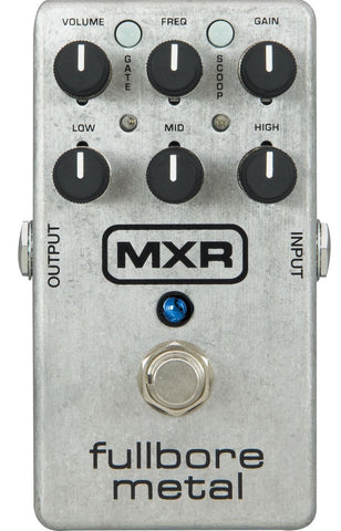 MXR M116 Fullbore Metal Distortion Guitar Pedal