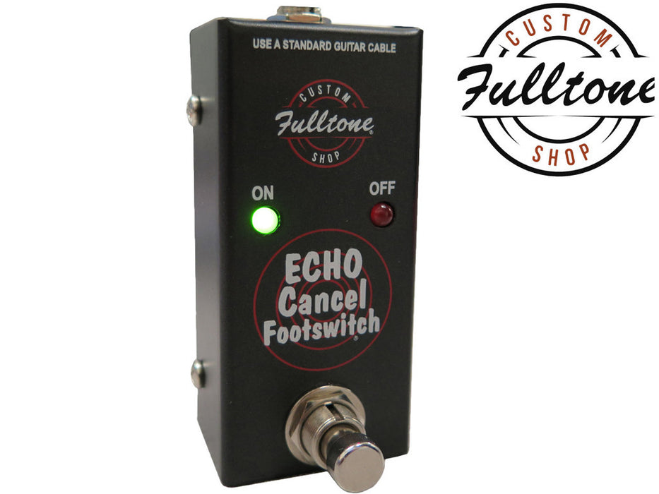 Fulltone Custom Shop Echo Cancel Footswitch ECF Pedal