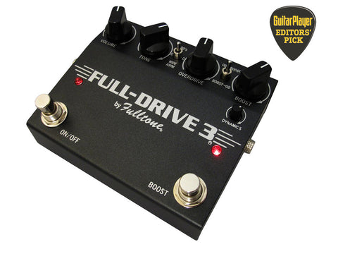 Fulltone Fulldrive 3 FD-3 Distortion/Overdrive Pedal