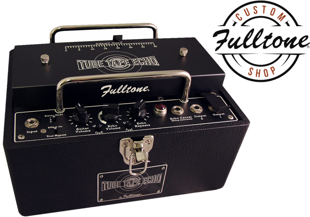 Fulltone Custom Shop Tube Tape Echo Delay TTE Unit