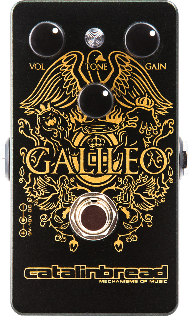 Catalinbread Galileo Treble Boost Pedal