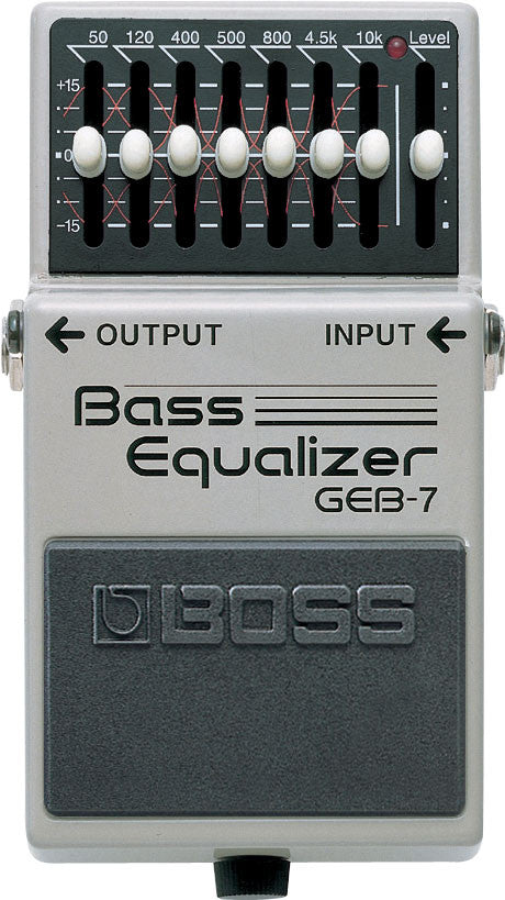 Boss GEB-7 Graphic Equalizer Bass EQ Effect Pedal