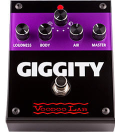 Voodoo Lab Gigity Overdrive Boost Pedal