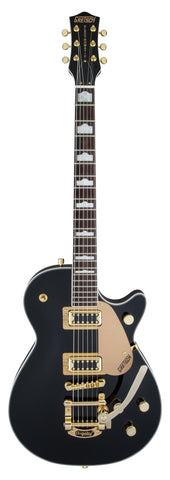 Gretsch G5435TG-BLK-LTD16 Limited Edition Electromatic Pro Jet with Bigsby and Gold Hardware Solidbody Electric Guitar Black