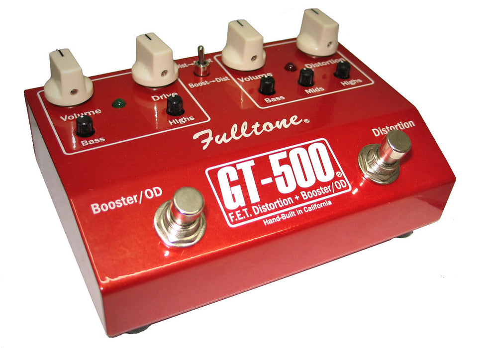 Fulltone GT-500 F.E.T. Distortion/Overdrive/Boost Pedal