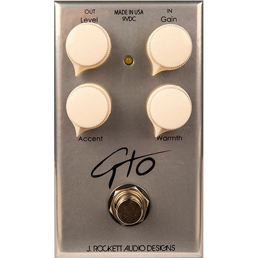 J Rockett Audio Designs Tour Series GTO Overdrive Guitar Effect Pedal