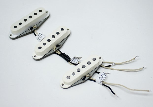 Lindy Fralin Stratocaster Woodstock Pickup Set - White