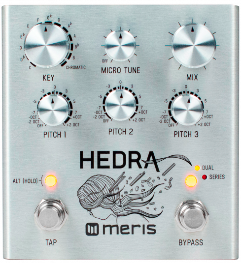 Meris Hedra 3-Voice Rhythmic Pitch Shifter Effect Pedal