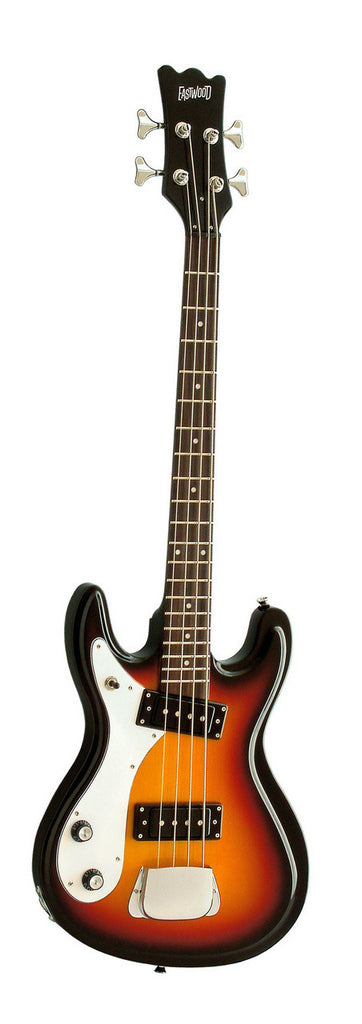 Eastwood Hi-Flyer Bass - Sunburst - Left Handed