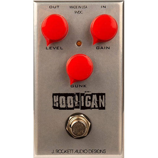 J Rockett Audio Designs Tour Series Hooligan Fuzz Guitar Effect Pedal