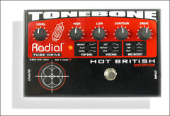 Radial Engineering Tonebone Hot British Tube Distortion Guitar Effect Pedal
