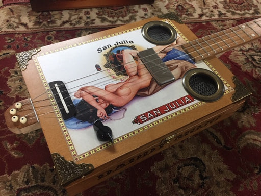 Daddy Mojo Classic Series 4 String San Julia Cigar Box Guitar