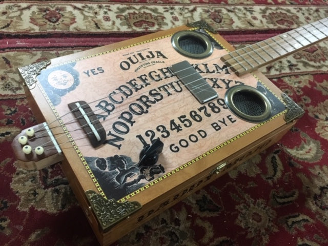 Daddy Mojo Classic Series 4 String Ouija Board Cigar Box Guitar