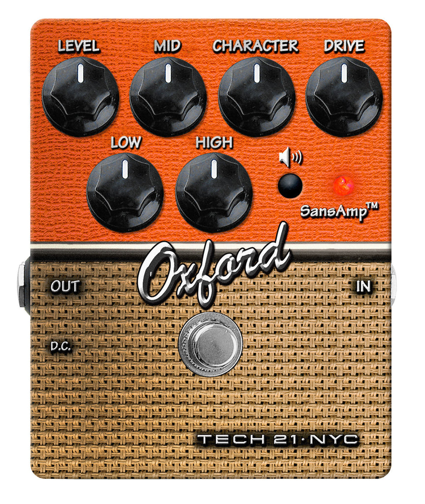 Tech 21 Oxford Overdrive Pedal