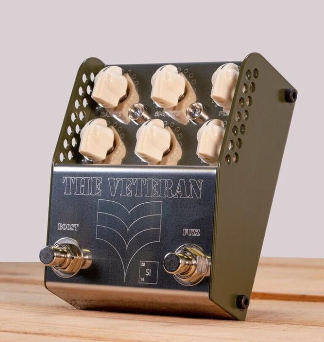 Thorpy FX The Veteran (Si) V2 Dual Fuzz Boost Guitar Pedal ThorpyFX