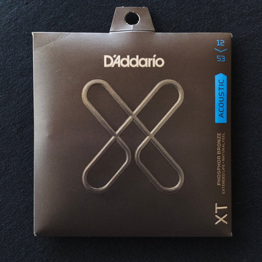 D'Addario XTAPB1253 Set Acoustic Phosphor Bronze XT Extended Life Light 12-53