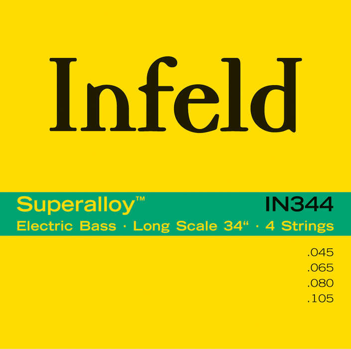 Thomastik-Infeld IN344 Superalloy Long Scale Electric Bass Strings