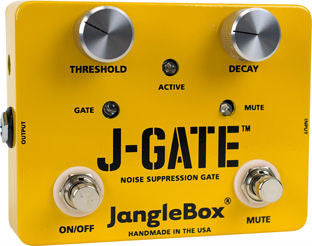 Janglebox Jangle Box J-Gate Noise Surppressor Noise Gate Guitar Effect Pedal