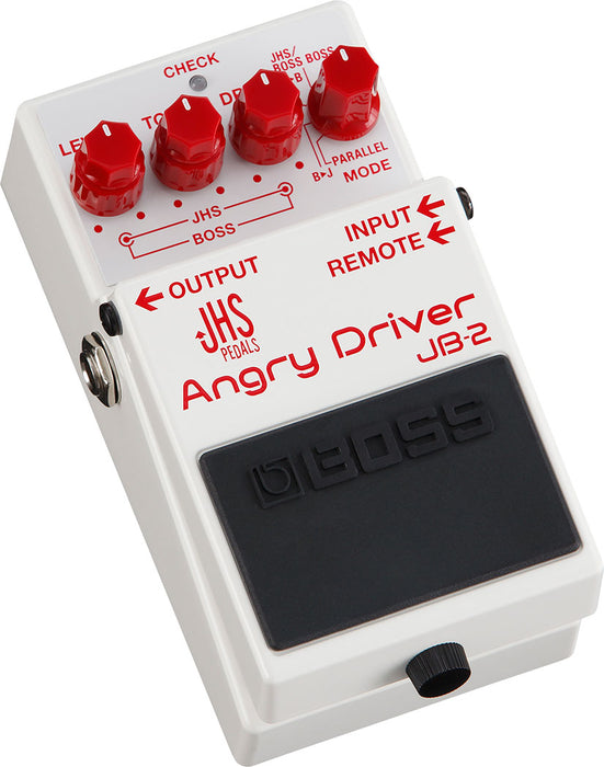 Boss JHS JB-2 Angry Driver Overdrive Guitar Pedal