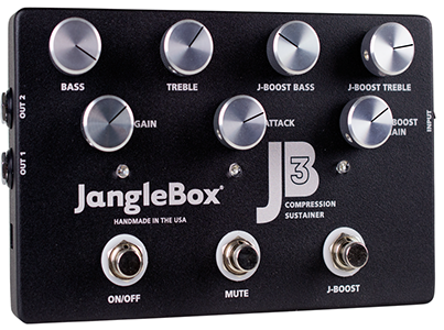 Janglebox Jangle Box JB-3 JB3 Compressor Sustainer Guitar Effect Pedal