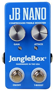 Janglebox Jangle Box JB Nano Compression Sustainer Guitar Effect Pedal