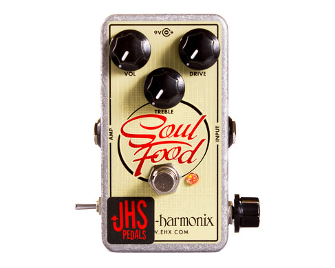 "JHS Electro Harmonix Soul Food ""Meat & 3"" Modded Overdrive Guitar Pedal"