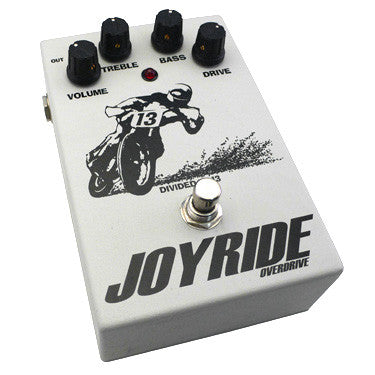 Divided By 13 Joyride Overdrive Guitar Effect Pedal