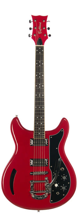 Eastwood Airline Custom K-200 Deluxe Chambered Guitar Red