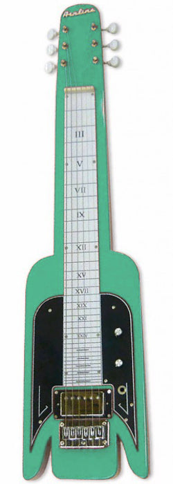 Eastwood Lap Steel Guitar Seafoam Green
