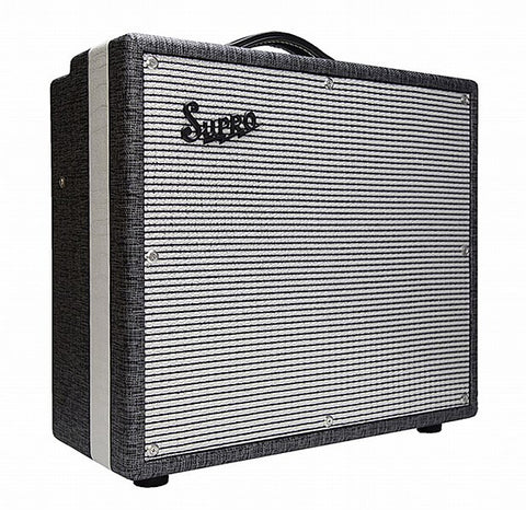 "Supro USA 1695T Black Magick 25-watt 1x12"" Tube Combo Guitar Amplifier"