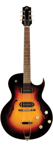 The Loar LH-302T CVS Thinbody Archtop Cutaway Guitar Vintage Sunburst