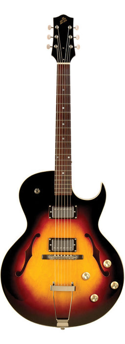The Loar LH-304T CVS Thinbody Archtop Cutaway Guitar Humbuckers Vintage Sunburst