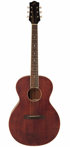 The Loar Brownstone LH-204-BR Small Body Acoustic Guitar