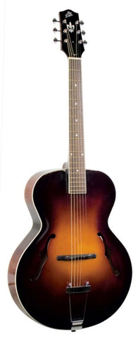 The Loar LH-300-VS Hand-Carved Archtop Guitar Vintage Sunburst